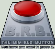 Big Red Button by CryoSphinx