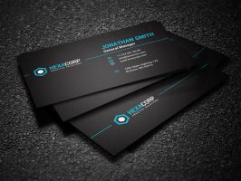 Simple Corporate Business Card by nazdrag
