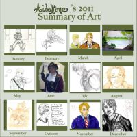 2011 Art Summary by JazzChyk