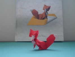 Fox-Diaz by origami-artist-galen