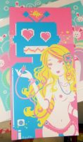 Sugar Surge limited print by Blush-Art