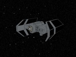 Tie Bomber Painted by Sirix2011