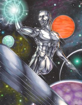 Silver Surfer by Dangerous-Beauty778