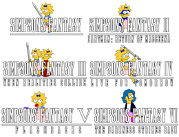 Simpsons Fantasy Logos by Gazmanafc