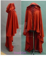 Red cloak by FrockTarts