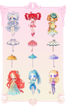 Parasol Adopts {OPEN} - Collab with Mimitea by LittleRueKitty