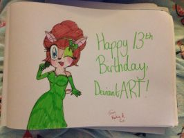 Happy 13th Birthday, DeviantART from Katie and Co. by RussellMimeLover2009