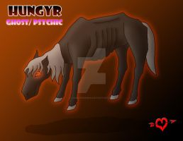 Hungyr - Ghost Psychic Legendary Fakemon by JamalPokemon