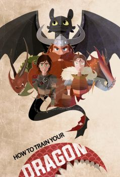 How to train your dragon by CKibe