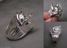 Koopa shell ring by Dans-Magic