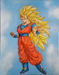 Son Goku ss3 by Dhemo