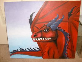 nethro the dragon. by wolf-child1995