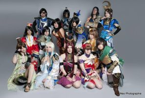 Dynasty Warriors 7 Swiss group by Magisa