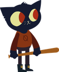 Mae - Night in the woods by LeoZane