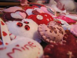 Close up of my Valentine Designs by LadyofLabrador