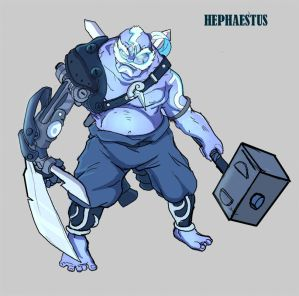Olympus Revisted Hepheastus