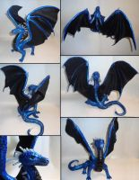 Quartz Dragon Collage by ByToothAndClaw