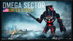 PACIFIC RIM - The OMEGA SECTOR Jaeger -Offshore by OmegaManLegend