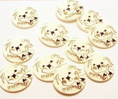 OMG Imp buttons by dragontrap