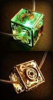 Steampunk LED Necklace by Roskvape