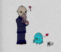 Ood and Octopus Luvins by Crysita
