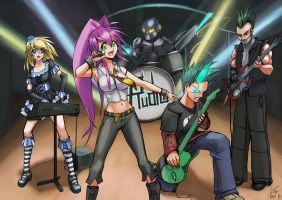 Rudra, the band by hybridmink