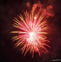 Red Flares by mjohanson