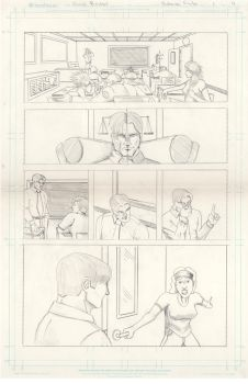 Batman Finite pg4 pencils by rosas-chris