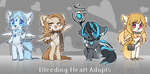 Bleeding Heart Adopts - closed by Mousu