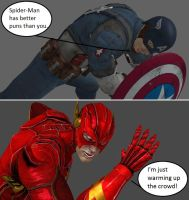 Injustice: Captain America vs The Flash by xXTrettaXx