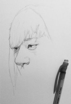 In the process of drawing taozi by TheNomNomApple