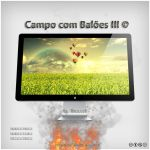 Campo com Baloes III by Dnbr
