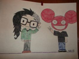 skrllex and deadmau5 by yourmom246