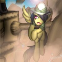 .:Daring Do and the last Hoofsade:. by Gamermac