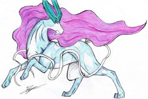 Suicune by Caronat