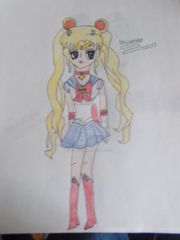 Sailor Moon Crystal by Beyworld101