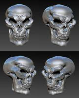 glazed skull by MarkNewman