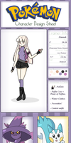 Pokemon Trainer OC - Hannah by whiizu