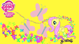 Fluttershy Wallpaper by Julien12826