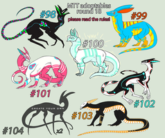 CLOSED//MTT adoptables - round 18 by annicron
