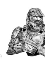 Master Chief by King-Kandie