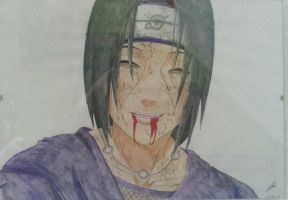 Itachi Uchiha by YourOwn-Art
