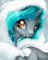 Commission: Teary Choir Winter Portrait by PaintedHoofprints