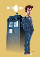 Doctor Who by Marcelo-Costa