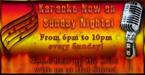Hot Shots Karaoke ad by celticpath
