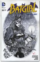 Batgirl 1887 by MichaelDooney