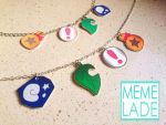 Animal Crossing - Necklace and bracelet by Memelade