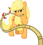 Applejack - Rope by Godoffury