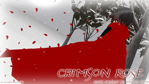 .:Crimson Rose:. by Smartanimegirl
