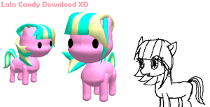 MLP FiM OC Sort Of: Lala Candy+Accessory Download by Lala-Fruitcake
